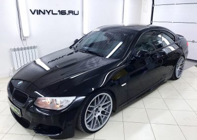 Тонировка стёкол плёнкой SunGear 50% — автомобиль BMW 3 coupe