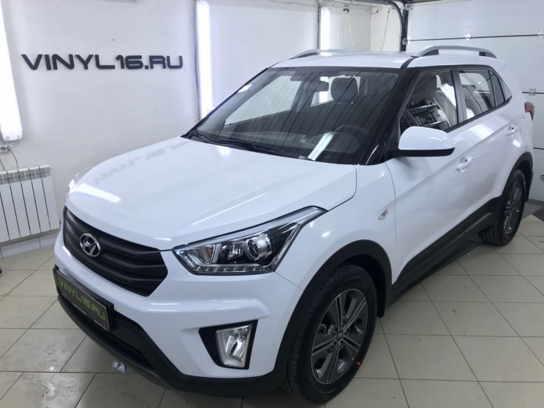 Оклейка автомобиля Hyundai Creta от Vinyl16.ru