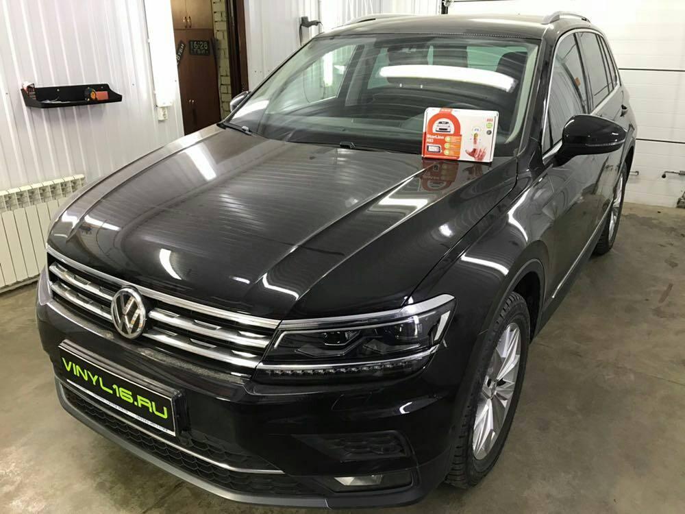 Установка сигнализации Starline A93 на автомобиль — Volkswagen Tiguan