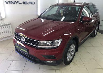 Комплексное бронирование полиуретановой пленкой Hexis Bodyfence — Volkswagen Tiguan