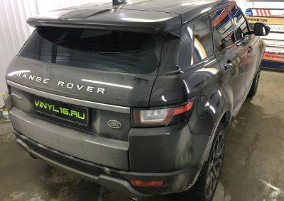 Тонировка стёкол плёнкой SunControl 50% — автомобиль Range Rover Evoque