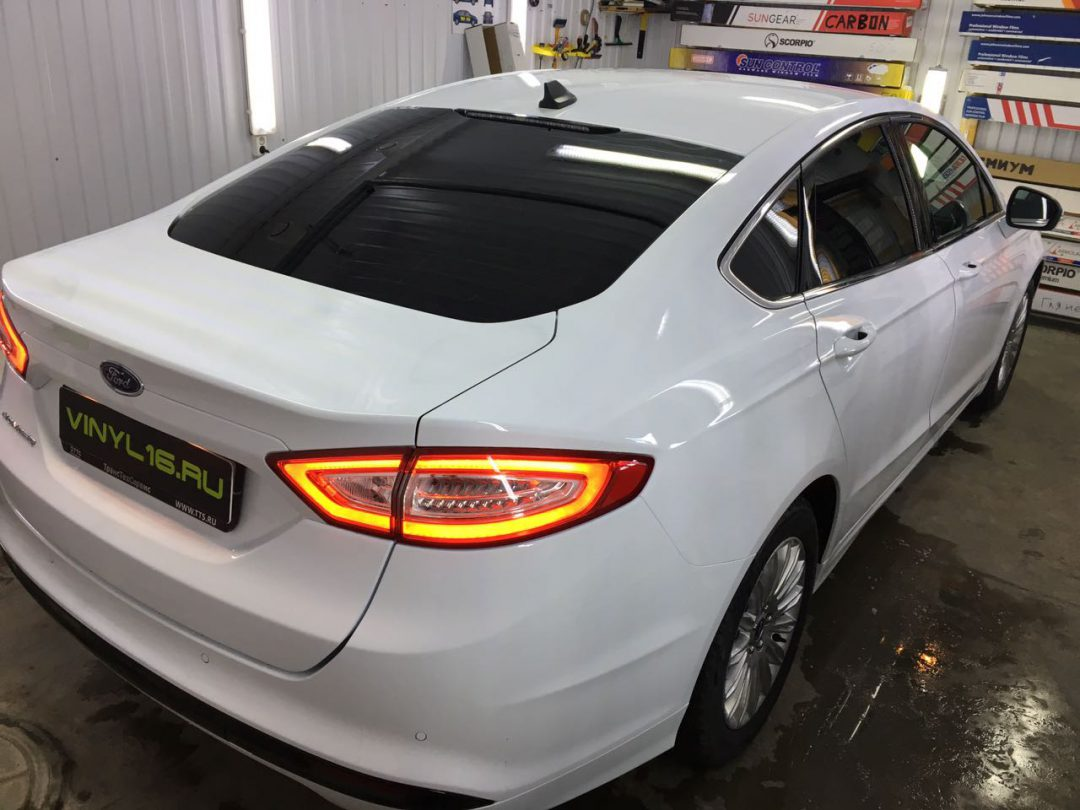 Тонировка стёкол плёнкой Johnson 95% — автомобиль Ford Mondeo