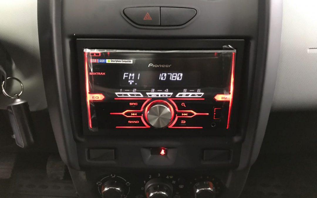 Установка сигнализации Starline A93 GSM/GPS , установка магнитолы и динамиков — Renault Duster