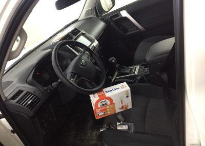 Установка сигнализации Starline A93 на Toyota Land Cruiser Prado