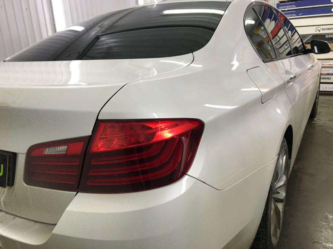 Тонировка стёкол плёнкой NDFOS 95% — автомобиль BMW 320i