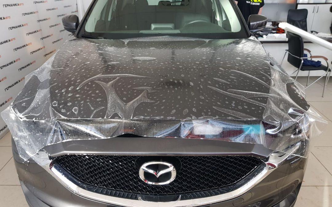 Бронирование кузова автомобиля Mazda CX5