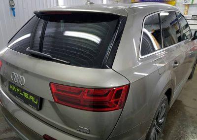 Тонировка стёкол плёнкой Johnson 95% — автомобиль Audi Q7
