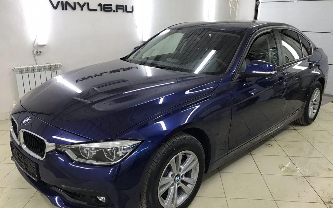 Тонировка стёкол плёнкой Johnson 95% — автомобиль BMW 3 серии