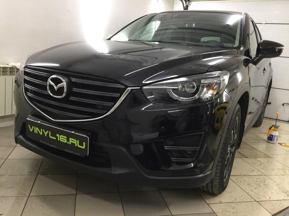 Бронирование пленкой кузова — Mazda CX-5