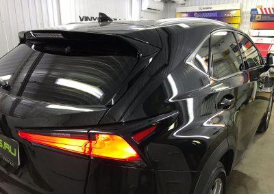 Тонировка стёкол плёнкой Johnson 95%  — Lexus NX200