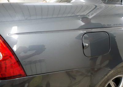 Ремонт вмятины без покраски на автомобиле Лада Приора