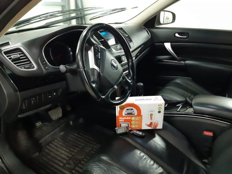 Установка автосигнализаций Starline на автомобили Nissan Teana, Toyota Camry и на BMW 3 серии