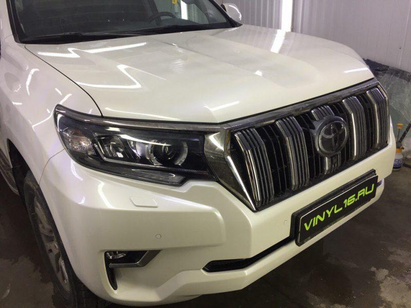 Комплексное бронирование полиуретановой плёнкой Hexis Bodyfence — Toyota Land Cruiser Prado
