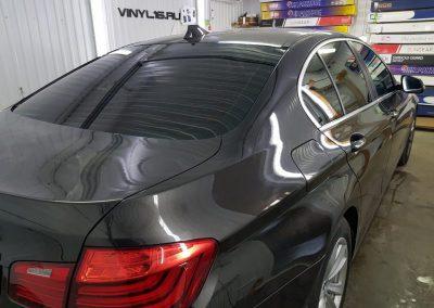 Затонировали заднюю часть плёнкой SunTek 95% на BMW 5