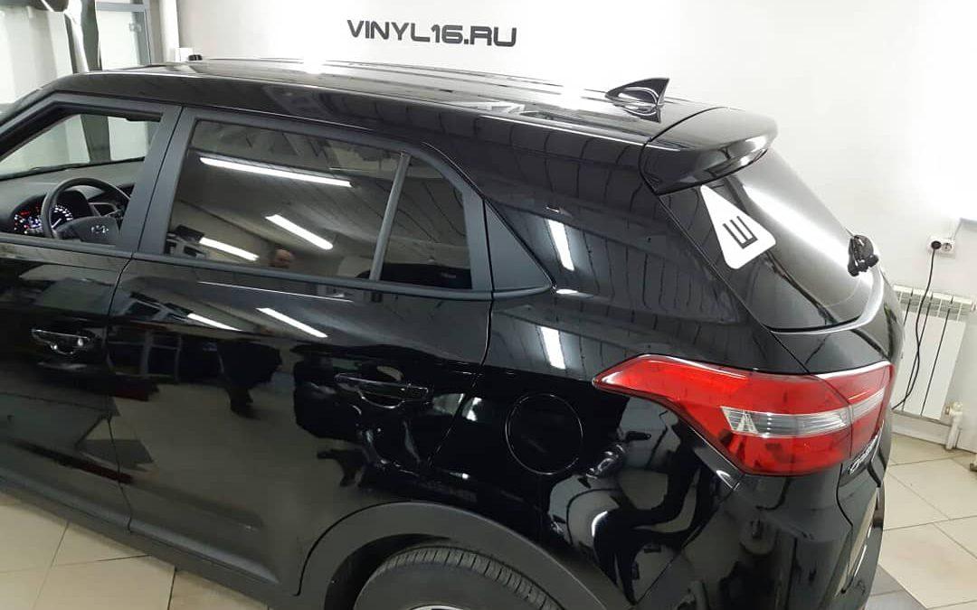 Тонировка задней части пленкой LLumar 95% — Hyundai Creta