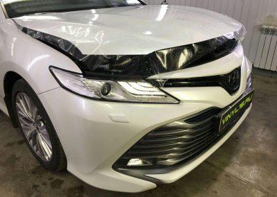 Бронирование капота автомобиля — Toyota Camry