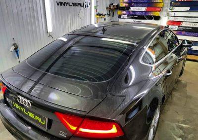 Затонировали заднюю часть плёнкой LLumar 50% — автомобиль Audi A7