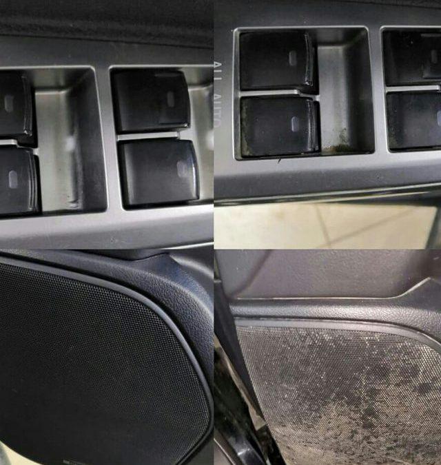 Химчистка салона автомобиля — Toyota Land Cruiser 200