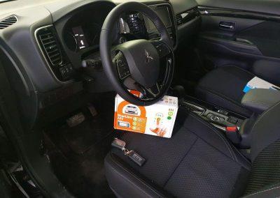 Профессионально — установка автосигнализации StarLine A93 на автомобиль Mitsubishi Outlander
