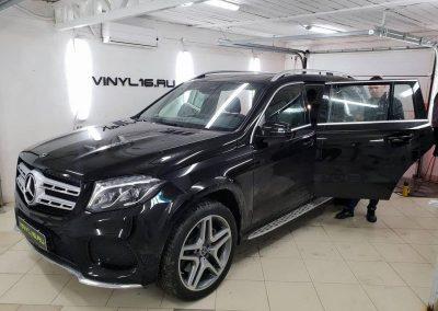 Тонировка металлизированной плёнкой LLumar 95% премиум класса — автомобиль Mercedes GLS 350D
