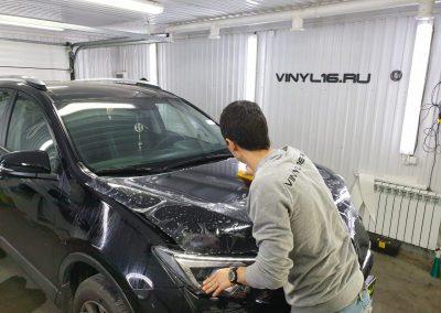 Забронировали автомобиль полиуретановой плёнкой Hexis Bodyfence — Toyota RAV 4