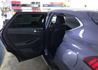 Тонировка задней части плёнкой SunTek 95% — автомобиль Hyundai Tucson
