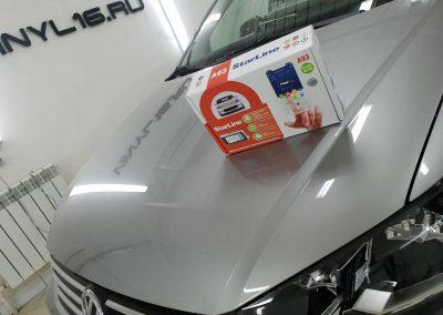 Автомобильная охранная система StarLine A93 2CAN+2LIN — установка на автомобиль VW Polo