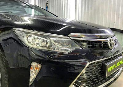 Комплексное бронирование кузова полиуретановой плёнкой Hexis Bodyfence — Toyota Camry