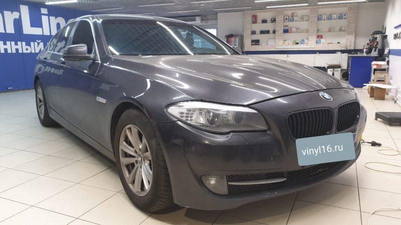 Тонировка стекол автомобиля BMW 5 серии пленкой Global
