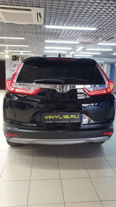 Honda CR-V — бронирование кузова пленкой Hexis Bodyfence, тонировка стекол пленкой Ultra Vision 95%