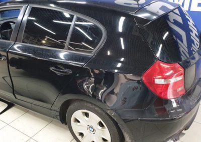 Тонировка задней полусферы пленкой Shadow Guard 85% — BMW 116