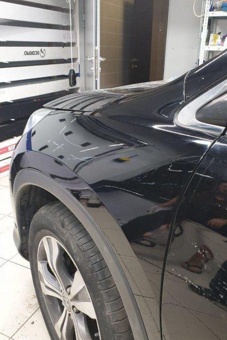 Honda CRV —  восстановление крыла без покраски. Наглядный пример до/после