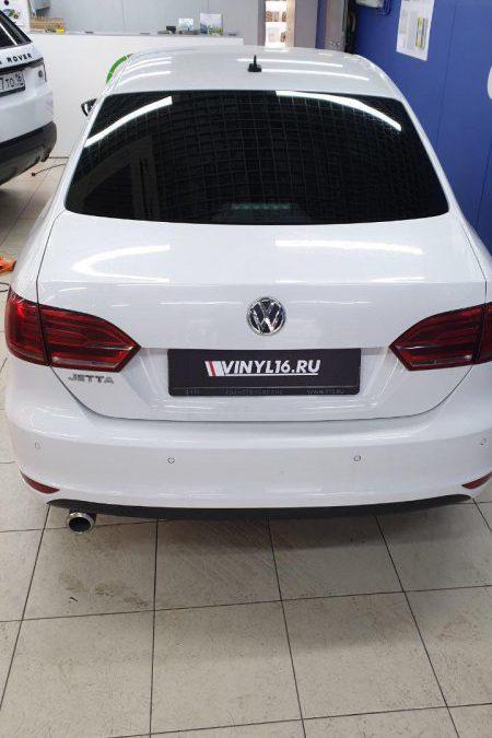Тонировка стекол автомобиля VW Jetta пленкой Ultra Vision