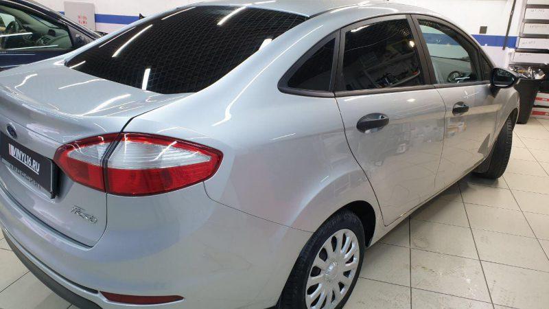 Ford Fiesta — тонировка стекол автомобиля пленкой Shadow Guard