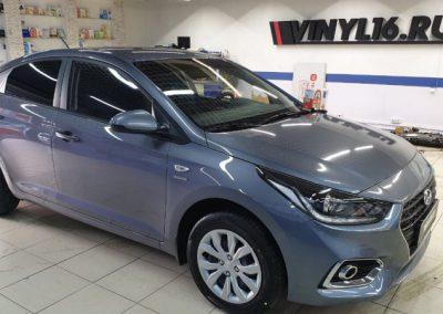 Hyundai Solaris — комплекс работ для нового автомобиля
