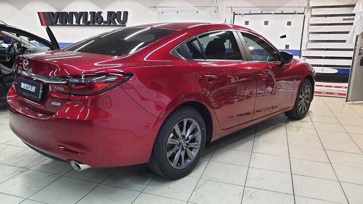 Тонировка автомобиля Mazda 6 пленкой Global
