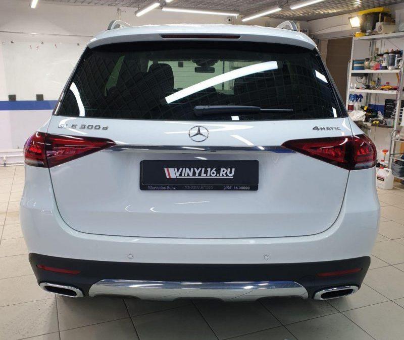 Тонировка передних и боковых стекол нового Mercedes-Benz GLE 2019 премиум пленкой LLumar