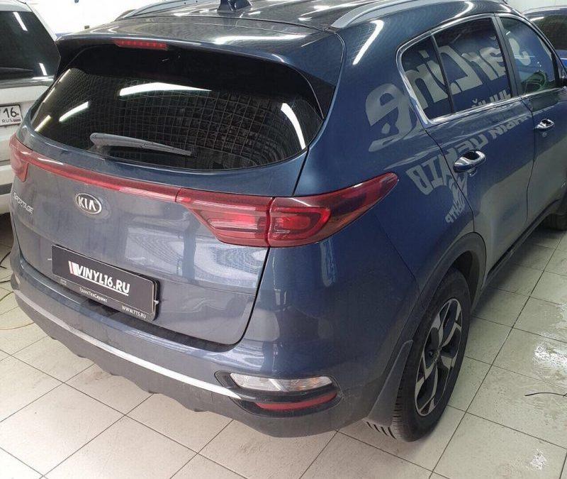 Kia Sportage — тонировка стекол автомобиля пленкой Llumar
