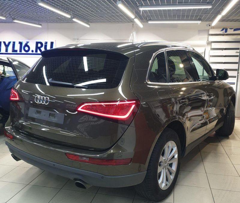 Тонировка стекол автомобиля Audi Q5 пленкой Shadow Guard