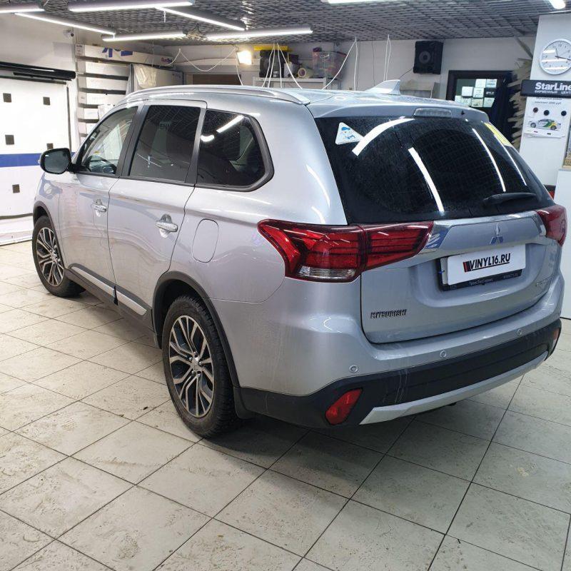 Mitsubishi Outlander — тонировка стекол автомобиля пленкой UltraVision