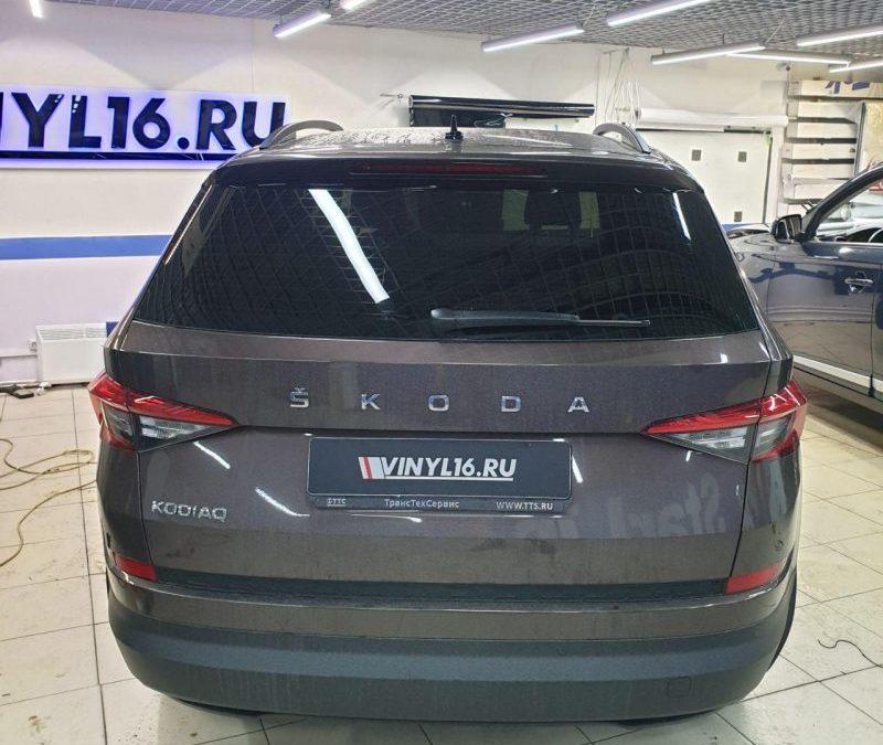 Skoda Kodiaq — тонировка стекол автомобиля пленкой UltraVision