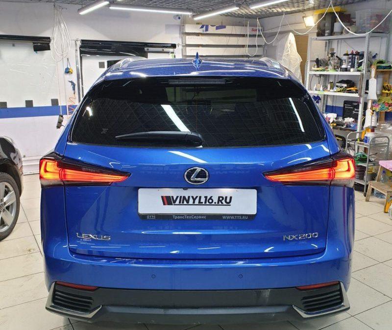 Lexus NX200 — тонировка стекол автомобиля пленкой Llumar