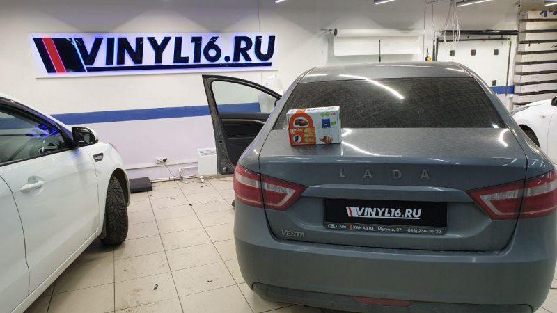 Установка автосигнализации StarLine S96 на автомобиль Лада Веста