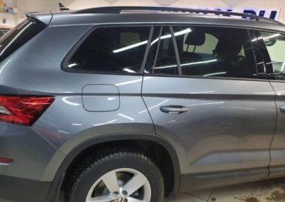 Škoda Kodiaq — тонировка стекол автомобиля пленкой Shadow Guard