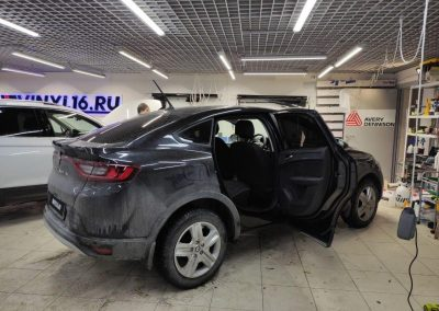 Тонировка стекол автомобиля Renault Arkana пленкой Shadow Guard