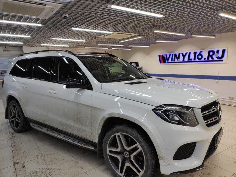 Mercedes-Benz GLS — бронирование лобового стекла автомобиля