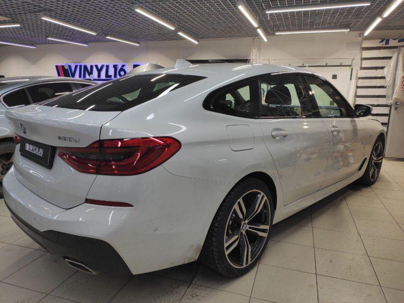 BMW 630 GT — бронирование лобового стекла автомобиля