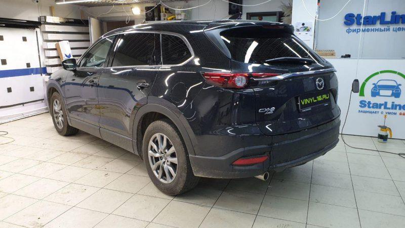 Mazda CX-9 — тонировка стекол автомобиля пленкой SunTek