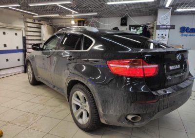 Тонировка автомобиля BMW X6 пленкой Shadow Guard