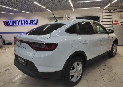 Renault Arkana — тонировка стекол автомобиля пленкой UltraVision
